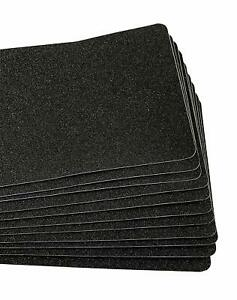 English Home Indoor outdoor Black 80 Grit Extra Friction Non Skid Floor Tape