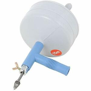 Clogged Drain Spring Cleaner 50ft Drain Auger Plumbers Snake Very Easy To Use