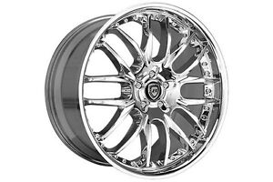 22 Lexani Wheels R8 Chrome Rims R 08 Tires R Eight Mercedes Sls Bmw 745 750 20