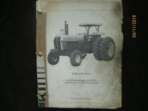 Oliver Minneapolis Moline White 2 150 Field Boss Tractor Parts Book Manual 1977