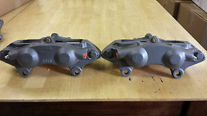 Disc Brake Calipers Pr Rear Corvette 65 82 Stainless Sleeved Calipers No Core Ch