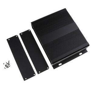 Aluminium Enclosure Project Desk Box Pcb Shell For Electronic 204x48x150mm