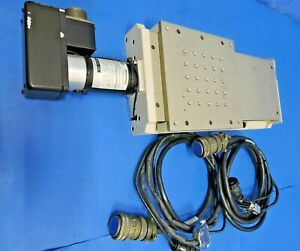 Aerotech Ats20015 Ball screw Linear Stage 1050lt Motor Cables Travel 150mm