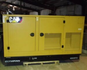 Cat Olympian 60 Kw Natural Gas Generator Set W 160 Hours 2007