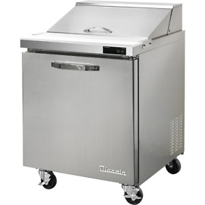 Blue Air Commercial 7 Cu Ft Sandwich Salad Refrigerated Prep Table 28