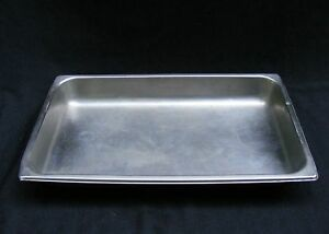 Steam Table Pan Steamable Food Pan Commercial Grade Rectangle 21 X 13