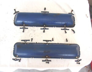 Vintage 1966 Lincoln Continental Oem Set Of Valve Covers Please Lqqk