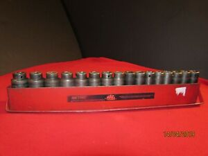 Mac Vdp6 Set Of 16 Piece Metric Sockets 1 2 Drive One Piece Is Snap On