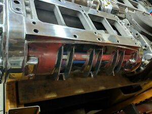 Rebuilt 8v71 Blower Street Rod Sbc Bbc Hot Rod Rat 350 Drag Sand W Snout 8v 7