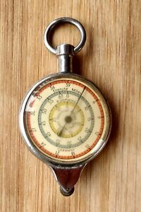Compass Opisometer Map Measuring Tool Nautical Miles Germany Vintage