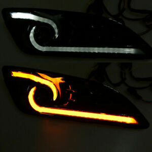 Car Drl Led Light Daytime Running Light Drl Turn Signal Light For Ford Fiesta