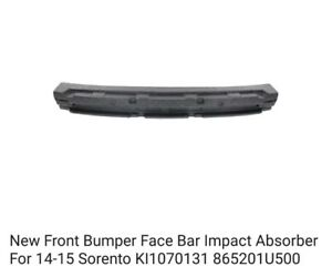 New Front Bumper Impact Absorber For 2014 2015 Kia Sorento Keystone 86520 1u500