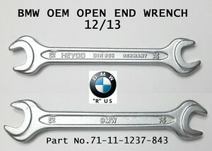 Bmw New Heyco Double Open End Spanner Wrench 12 13 Din 895