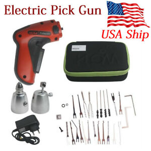 Usa Ship Electro P ic k Cordless Electric P i c k Gun With 110 220vac Charger