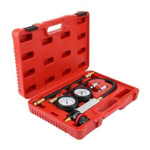 4pcs Cylinder Leak Tester Tu 21 Petrol Engine Compression Leakage Detector Kit