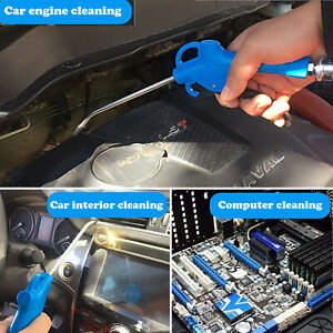 Multifunctional Air Duster Spray Gun With 5m Recoil Hose Truck Car Dust Blower