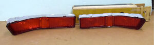 Nos Pontiac 1965 Catalina Star Chief 2 2 Ventura Tail Lamp Lenses Pair 2
