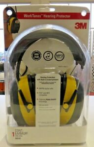 3m Tekk Worktunes Hearing Protector Mp3 Compatible With Am fm Tuner