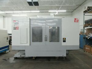 Haas Ec 1600zt Cnc Horizontal Machining Center With Integrated 4th Axis Rotary