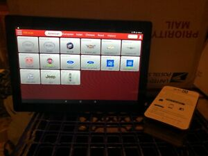 Launch X431 Software 1 Year Upd Golo Carcare Diagnostic Tool With Tablet Free