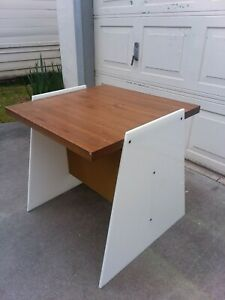 1960 S Vladimir Kagan Lucite Table Desk Eames Herman Miller Mcm Modern