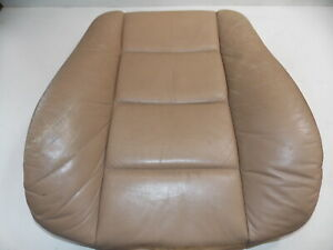 Bmw E36 Front Leather Seat Back Cushion Tan Right Oem 95 99 318 323 325 328