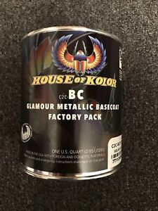 House Of Kolor C2c Bc01 Shimrin Glamour Metallic Solar Gold 1 Qt Paint New