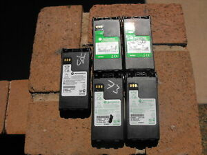Lot Of 5 Motorola Ntn9857c Battery Impres Xts 2500 Xts 1500 Mt 1500 Pr1500