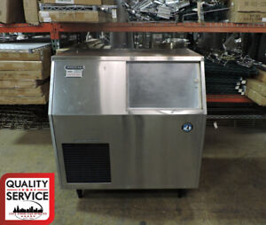 Hoshizaki F 300baf Commercial Flaker Ice Maker With Built In Storage