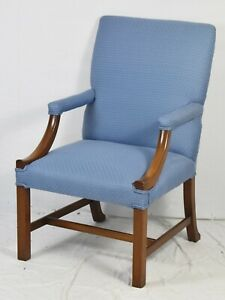 Kittinger Colonial Williamsburg Chippendale Style Arm Chair Or Lolling Chair