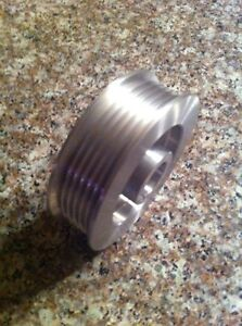 3 25 6 Rib Supercharger Pulley For Vortech Powerdyne Scorpion 20mm Bore