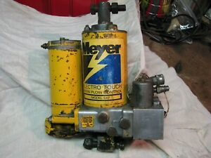Working Used Meyer E 47 Snow Plow Pump Meyers E47 Good Pressure Power Angle