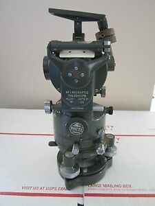 Optical Theodolite Hilger Watts London England As Is Optics lobby