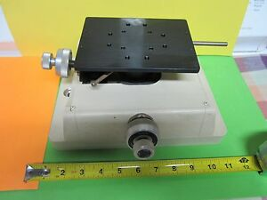 Microscope Part Wyko Interferometer Tip Tilt Table Stage Optics As Is Bin zp 7