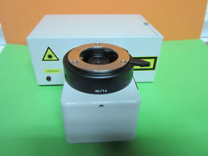 Microscope Confocal Part Leitz Wetzlar Laserstrahl Optics Germany Bin b6 97