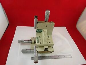 Line Tool Four Micrometers Stage Positioning For Optics As Is Bin c9 a 01