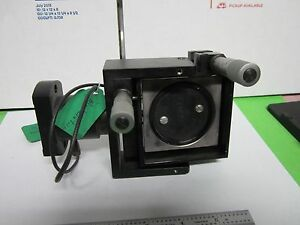Optical Modulator High Voltage Mirror Mount Laser Optics As Is Bin q3 31