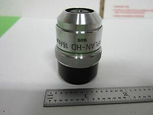 Microscope Objective Zeiss Germany Epiplan 16x Long Distance Optics Bin p4 97