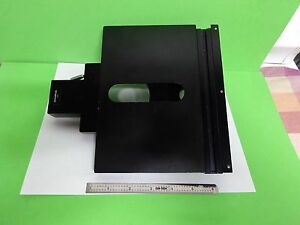 Microscope Part Olympus Japan Stage Micrometer Table For Bh2 As Is Bin v8 04
