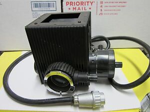 Microscope Part Nikon Japan Lamp Illuminator Housing As Is Iii Hg 100w Bin 51