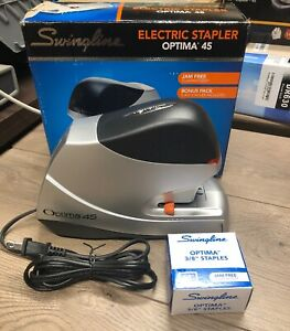 Excellent Swingline Optima 45 Electric Stapler Free Shipping