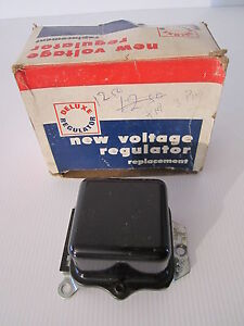 Vintage Nos Ford Gm General Motor Chrysler Deluxe Voltage Regulator Dr 428