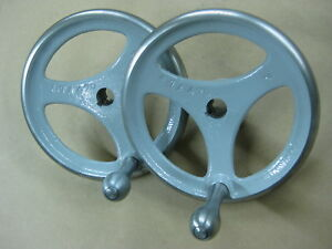 Delta Hand Wheels For Unisaws And Hd Shapers Painted With Polished Rims