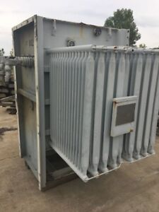 Ge 1500 Kva Substation Transformer 13800 480y 277