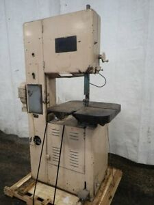 Grob Ns18 Vertical Bandsaw 18 X 12 24 X 24 Table 06171790036