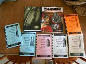 Reloading Manuals - A package deal of manuals including Speer