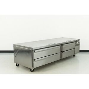 Used Continental Dl96g 96 4 Drawer Refrigerator Chef Base