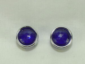 Blue Dot Inserts W Chrome Retainers And Instructions pair Show Quality