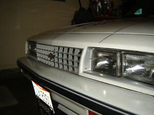 Chevy Cavalier 1984 2 0l White
