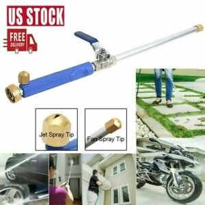 High Pressure Power Washer Water Spray Gun Wash Jet Nozzle Wand Car Garden Hose